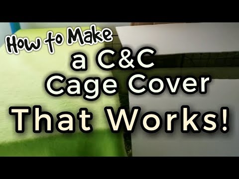 How to Make A C&C Top Cover That Works!