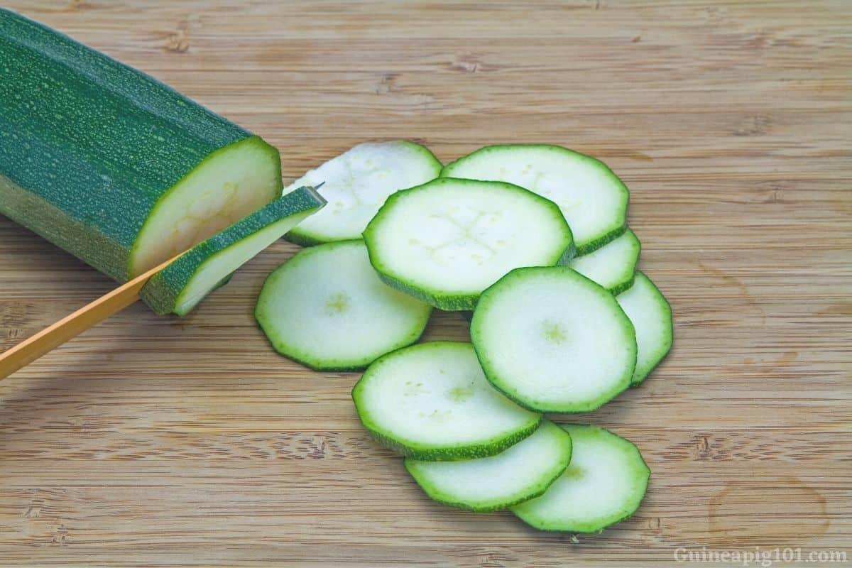 Prepare Zucchini For your cavies