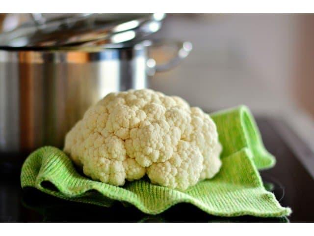 cauliflower for guinea pigs