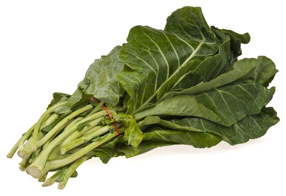 Can guinea pigs eat collard greens stems?