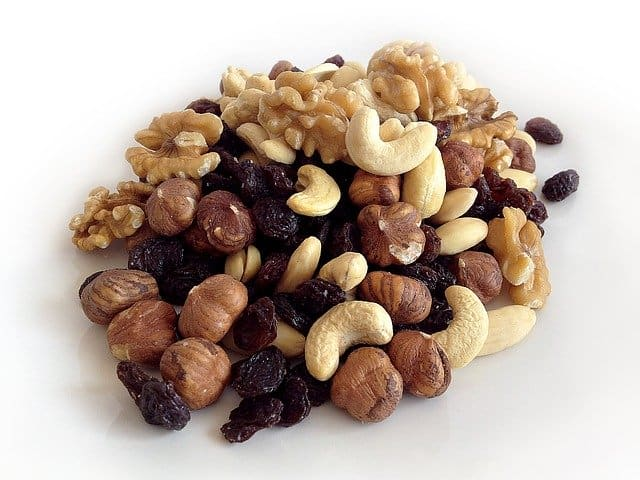 Nutrition in nuts?