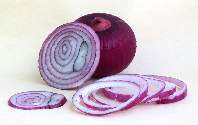 Can guinea pig eat red onion?