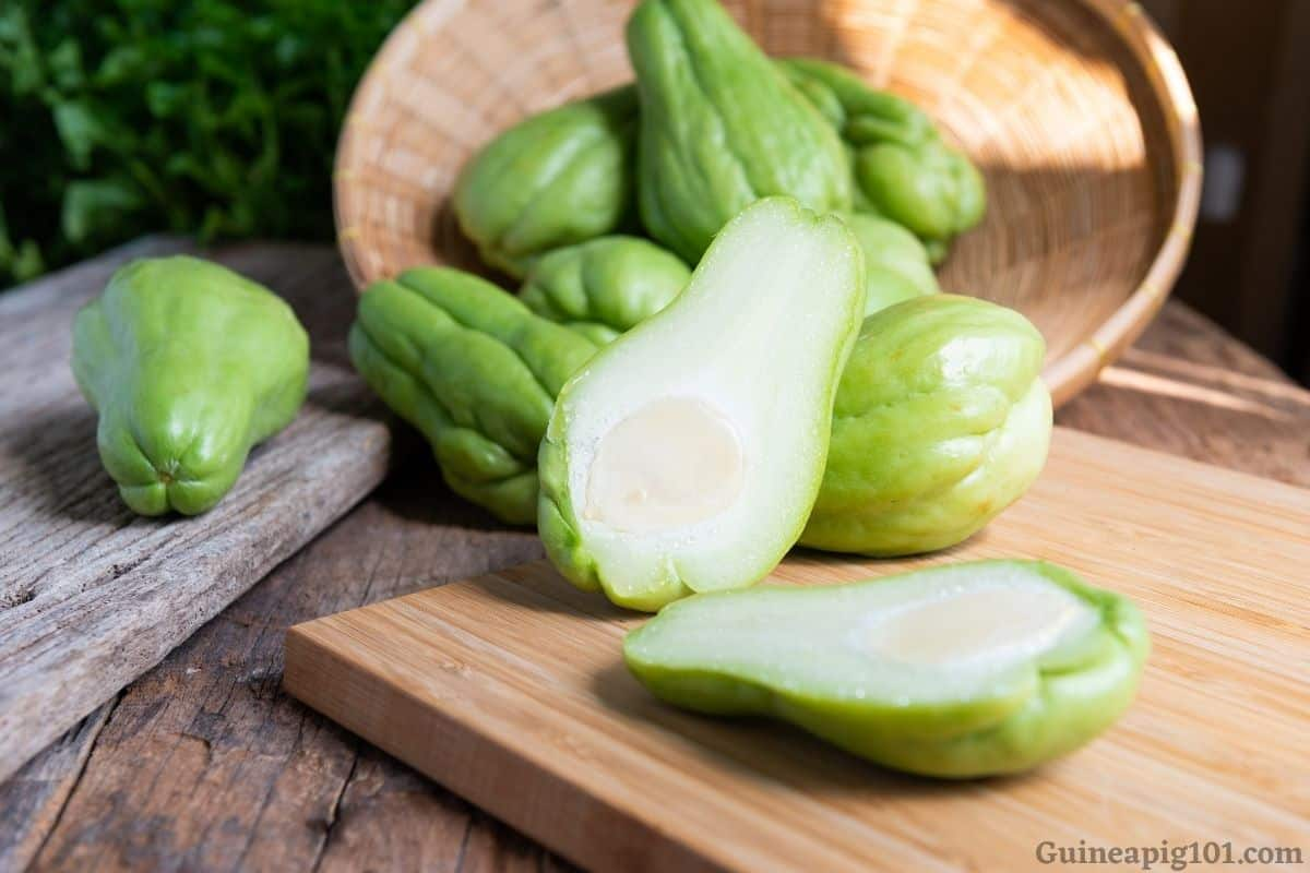 Can Guinea Pigs Eat Chayote? (Hazards, Serving Size & More)