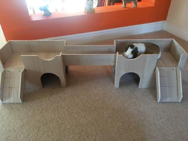 Guinea Pig Shelter House Castle Hideout