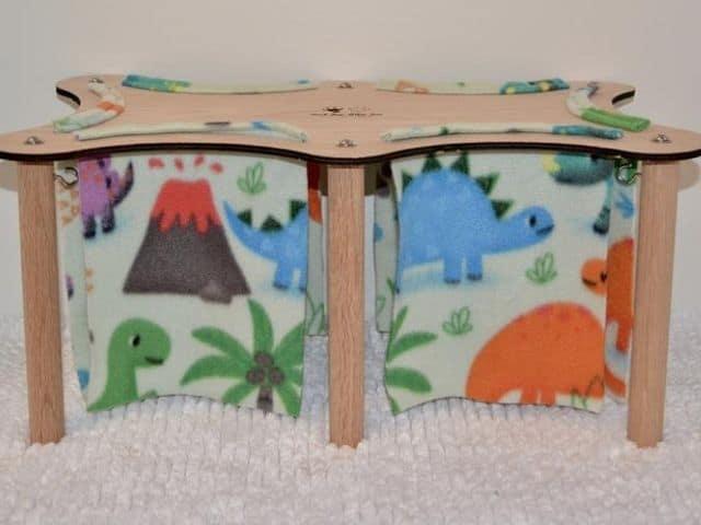Esty Large Pet Forest wooden hideout
